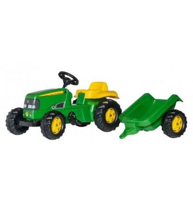 Tractor + Remolque infantil