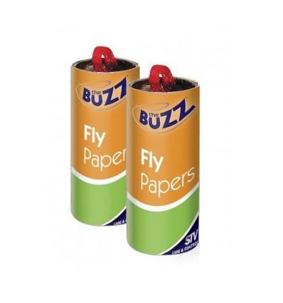 Papel anti moscas