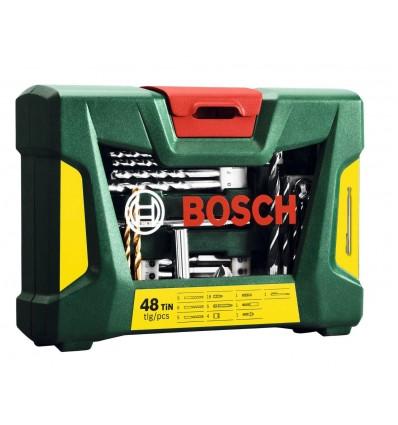Juego 48 piezas brocas y puntas Bosch