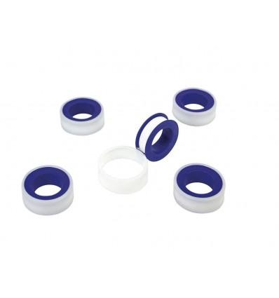 Cinta para sellar las roscas de conexión de agua, 5 piezas