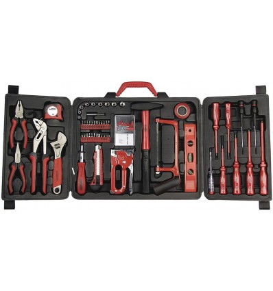 Maletín de herramientas para hogar, 60 piezas Mannesmann
