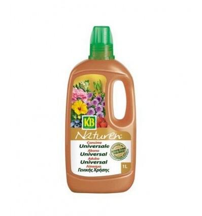 Naturen fertilizante líquido universal 1 litro KB