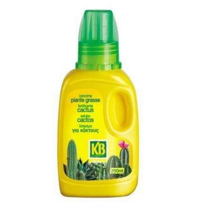 Fertilizante líquido cactus 250 ml KB