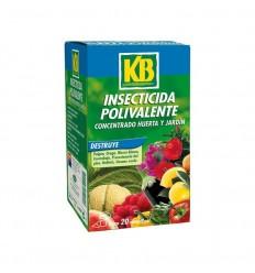 Insecticida polivalente huerta y jardín 100 ml KB