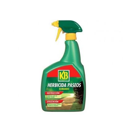 Herbicida Total Paseos Komando 1 L. KB