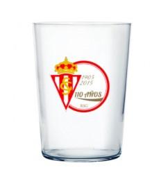 Vaso de Sidra escudo Real Sporting 110 Aniversario