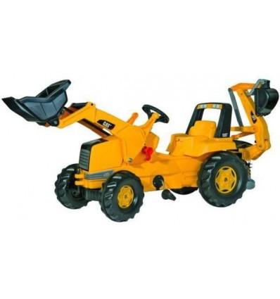 Tractor Bulldozer y Excavadora