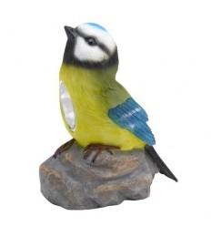 Pájaro solar jardín