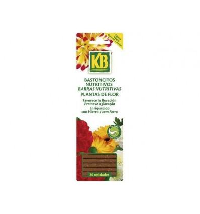 Bastoncitos nutritivos plantas de flor con guano, 30 uds KB