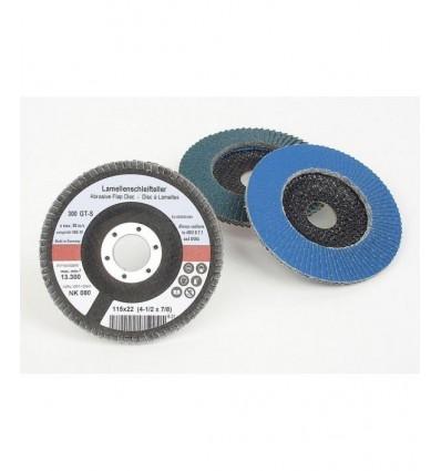 Disco de desbaste de lámina, 115 mm, diferentes granulados